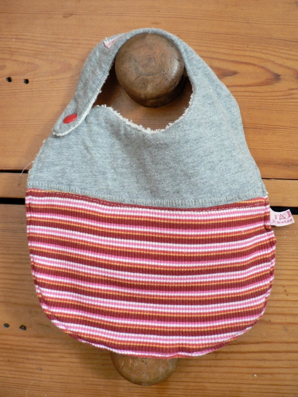 upcycled bibs