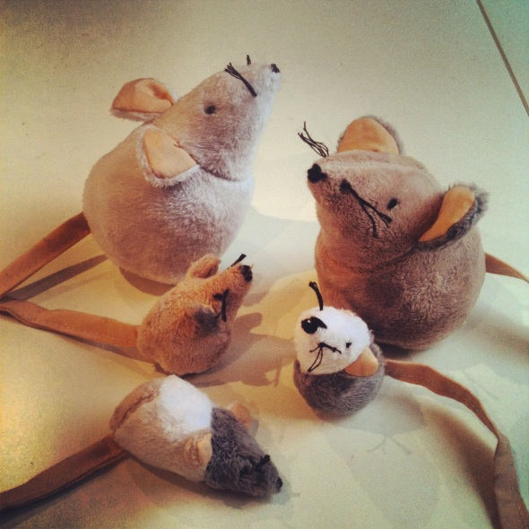 mixed up mice
