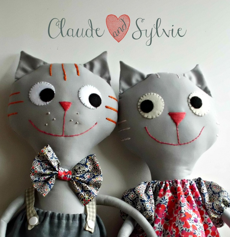 claude and sylvie cats