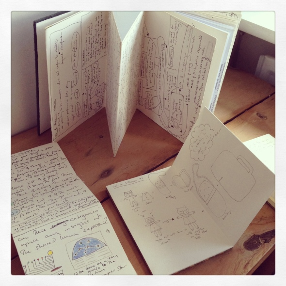 leporello sketchbooks