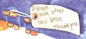 Paddington Bear label