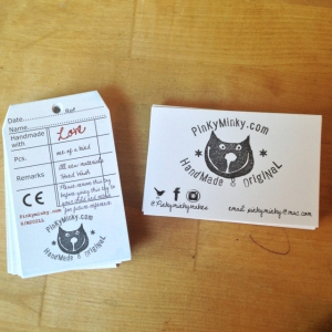 business cards  labels