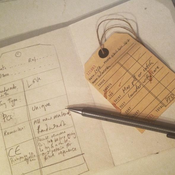 designing labels